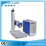 etiqueta de plástico de concentración dinámica del laser de la fibra de 20W 30W 50W 3D