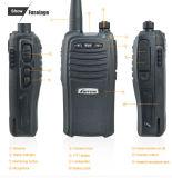 Émetteur récepteur portatif sans fil portatif de la CE VHF/UHF Lt-66