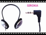 Neuer goldener Stereokopfhörer für Sport, MP3