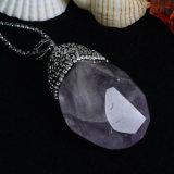Pendant en cristal de bijoux de perle de pierre gemme de mode avec Rinestone
