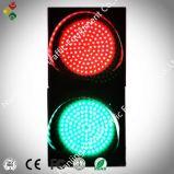 semaforo rosso e verde dell'obiettivo del Cobweb di 300mm