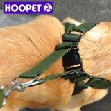 Hoopet Armee-Grün-Wholesale einziehbare Haustier-Hundeleine-Kragen-Zubehör China