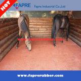 Хорошее качество и стабилизированная резиновый циновка для лошади