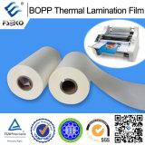 Film de laminage thermique pré-collé BOPP (mat)