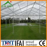 Baldacchino di alluminio della tenda della tenda foranea del giardino trasparente del partito da vendere 10m