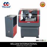 Миниый мрамор CNC/филировальная машина алюминия/меди (VCT-6040)