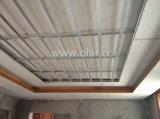 Sistema de la pared seca--Material de construcción del aislante sano del cemento de la fibra