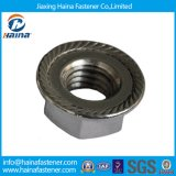 DIN6923 Color Zinc Plated Carbon Steel Steel Hex Head Serrated Flange Nut M2 24