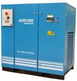 Compresseur d'air rotatoire exempt d'huile silencieux Non-Lubrifié de vis (KD55-10ET)