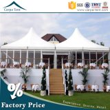 Big Event Glass Wall Pagoda Tents with 8mx8m Dimension for Sale