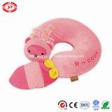 종려 Civet 채워진 편리한 분홍색 너구리 연약한 아기 베개