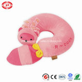 Palm Civet Stuffed Confortável Pink Racoon Soft Baby Pillow