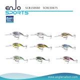 Attrait choisi de poissons d'école de palan de pêche de pêcheur avec les crochets triples de Bkk (SCB150660)