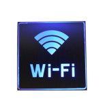 Lumière d'inondation en aluminium rechargeable de WiFi de la lumière DEL de signe de WiFi de la lumière DEL de signe de DEL