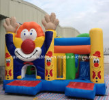 Cartoon、AdultのためのInflatable Clown Jumping Bouncerの2016コマーシャルInflatable Bouncy Castles