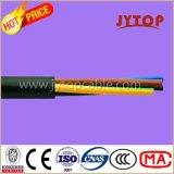 H05VV-F (TTR) kupferner Draht, Kurbelgehäuse-Belüftung isolierte vieladrige Kabel mit flexiblem kupfernem Leiter