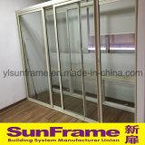 Алюминиевые раздвижная дверь с стеклами для балкона и популярно в Израиле