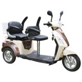 tricycle électrique de portées de 500With700W 48V deux avec la batterie d'acide de plomb (TC-018B)