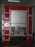 Завальцовка штарки ролика пожарной машины вверх по двери