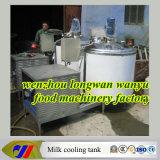 Tipo vertical máquina do leite para refrigerar