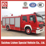 Sinotruk Fire Fighting Truck 4X2 Drive Water Tank 8000L