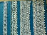 Água africana da tela do laço da guipura de Chemicaled do laço do casamento da forma - laço solúvel do bordado