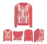 Maglione variopinto delle donne uniche di Intarsia