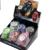 Armbanduhr-Form-Schleifer-Aluminiumtabak-Schleifer-Minikraut-Zerstampfung