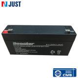 6V 3.2ah UPS-Batterie-Grün-Batterie AGM-Ventil regelte gedichtete Lead-Acid Batterie
