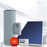 Réservoir solaire fendu fait pression sur de chauffe-eau