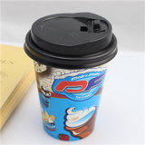 Lidの使い捨て可能なCoffee CupかCoffee Paper Cups