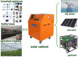 1kw, 2kw, 3kw, 5kw, 8kw, 10kw Built dans Hybrid Inverter +Controller +Battery Solar System Cabinet