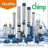 Tiefe Vertiefungs-versenkbares zentrifugales Wasser-Pumpe 1 des Schimpanse-100qjd609-0.75 HP