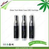 Vaporisateur électronique de pétrole en verre C3 Cbd de la cigarette 0.5ml