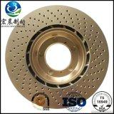 배출된 브레이크 디스크 고품질 ISO9001