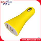 Handy 2 Doppel-USB-Verbinder-Kippschalter-Arbeitsweg-Auto-Aufladeeinheit
