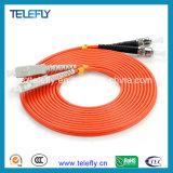 Om3, cabos de correção de programa da fibra óptica Om4