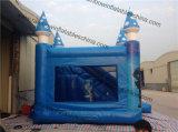 Opblaasbaar het Springen van het Thema van de Fabriek van de regenboog Direct Verkoop Bevroren Kasteel
