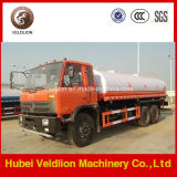Old 153# CabのDongfeng 3 Axles 20m3 Water Tanker Truck