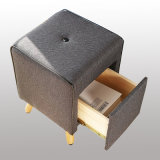 Neues Design Square Comfortable Sofa Chair mit einem Drawer