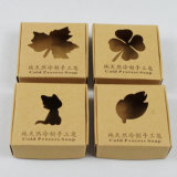 печатание Brown Kraft Paper Box/Packing Box/Soap Box с Умирает-Cut Window
