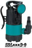 (SDL400D-9) Garten-versenkbare Pumpe mit stellen Unterseite auf schmutziges Wasser oder Trinkwasser ein