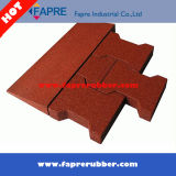 馬Stall Rubber TileかRed Rubber Paving Blocks Horse Pavers Rubber Tile.