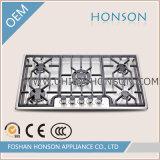 Fraise-mère matérielle de gaz de surface d'acier inoxydable d'appareil ménager