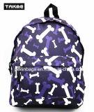 Sac de sac à dos d'impression de mode pour l'école, course, loisirs