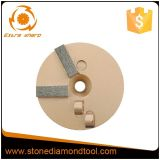 Disco di molatura legato metallo di rimozione a resina epossidica del trapezio di PCD