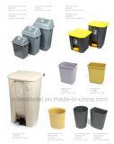 Escaninho de lixo ao ar livre plástico de um impulso de 60 litros