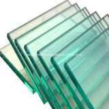 Verre en verre de balustrade de flotteur de bâtiment en verre clair en verre de Sgt