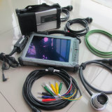 La estrella C5 SD del MB conecta para la radio de la estrella C5 de la herramienta de diagnóstico del MB Cars&Trucks con la tablilla I7CPU de Xplore IX104 con software del SSD
