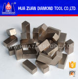 Het stabiele Segment van de Diamant van Prestaties voor het Marmeren Zandsteen van het Graniet van de Steen